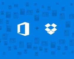 Приложения Microsoft Office и Dropbox отныне интегрированы