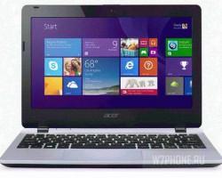 Acer Aspire E 11 — ноутбук за 200$ с предустановленной Windows 8.1 with Bing