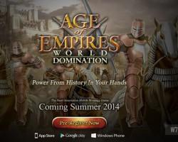 Релиз Age of Empires: World Domination для Windows Phone отложен до 2015 года