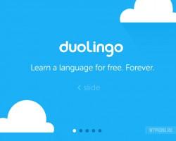 Duolingo, самоучитель иностранных языков, портирован на WP