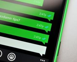 ВWhatsApp наWindows Phone отметки прочитанных сообщений стали синими (обновлено)