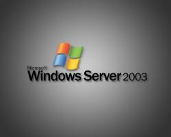 Поддержка Windows Server 2003 закончится в следующем году