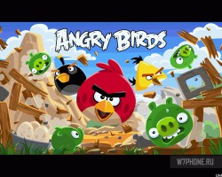 Все игры серии Angry Birds для Windows Phone отныне бесплатны