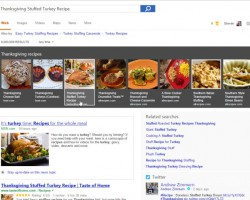 Поисковая система Bing получила функцию поиска кулинарных рецептов