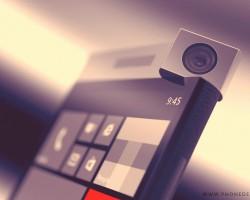Концепт Windows-смартфона с вращающейся камерой