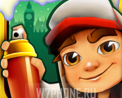 В игре Subway Surfers для Windows Phone новая локация — Лондон