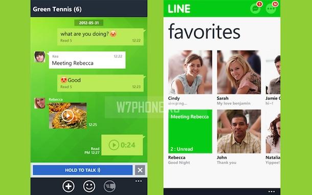 LINE для Windows Phone
