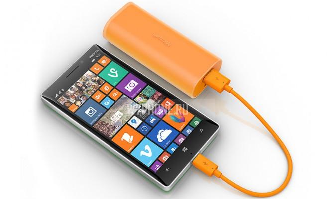 Внешний аккумулятор для Lumia купить