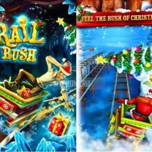 Игра Rail Rush получила новогоднее обновление