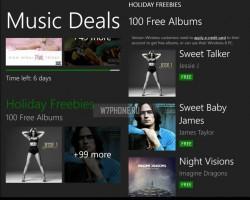 В Music Deals временно доступны 100 альбомов для бесплатной загрузки
