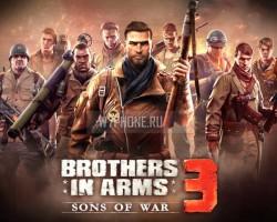 Анонсирован выход игры Brothers in Arms 3: Sons of War на WP