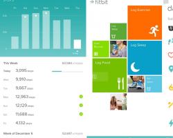 Приложение Fitbit для Windows Phone получило большое обновление
