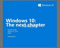 21января 2015 года Microsoft расскажет оWindows10 что-то новое