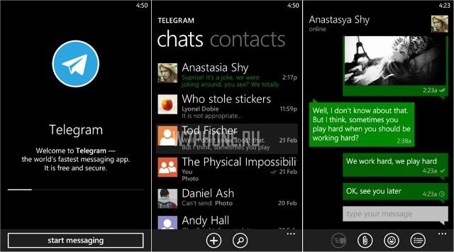 Telegram Messenger получил обновление для WP