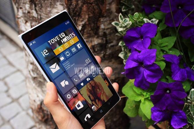 Windows Phone 10 получит интерактивные плитки