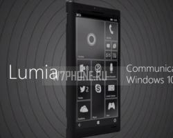 Концепт гибрида смартфона иноутбука сWindows 10на видео