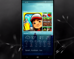 Концепт Windows 10для смартфонов