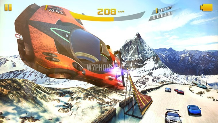 Asphalt 8 Windows 8