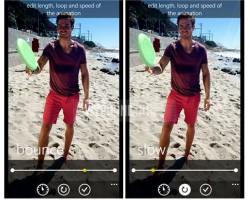 Все возможности бета-версии Lumia Cinemagraph перешли встандартную
