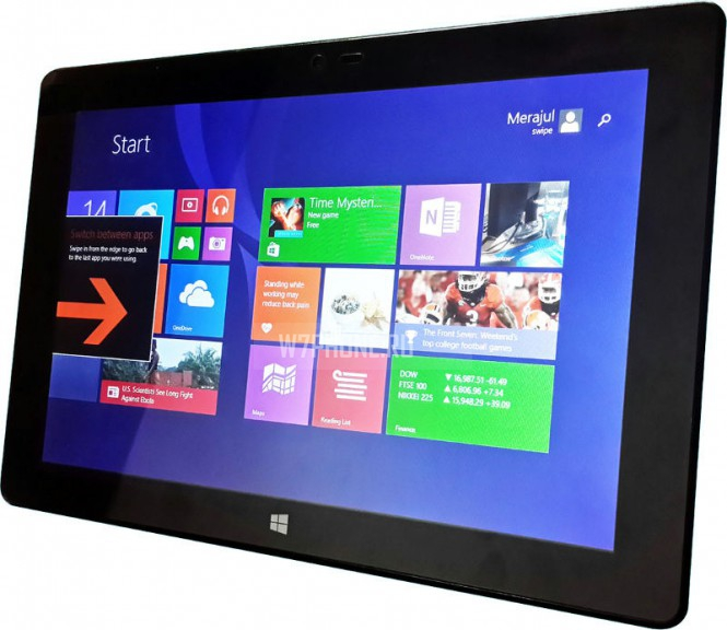 Swipe анонсировала планшет Ultimate Tab 3G на Windows 8.1