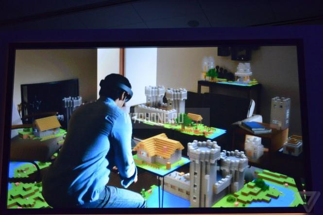 Первые впечатления от HoloLens