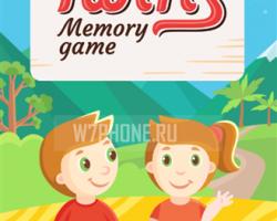 "Twins Memory Game — новая игра ""найди пару"" эксклюзивно для Windows Phone."