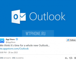 Приложение Outlook обогнало Gmail вApple App Store