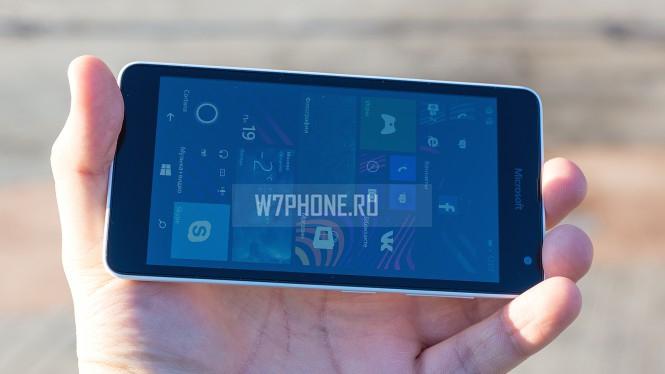Обзор Lumia 535. Экран.
