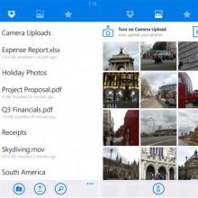 В Dropbox на Windows Phone появилась автоматическая загрузка фотографий в облаке