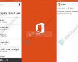 Скриншоты Spartan и Work Assistant из Office в Windows 10
