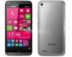 Freetel готовит смартфон наWindows10 в металлическом корпусе