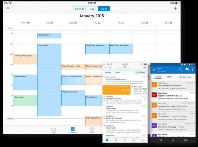 Outlook для Android и iOS получает новые функции безопасности