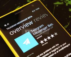 У Telegram на Windows Phone появилась дополнительная защита
