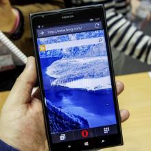 Opera Mini на Windows Phone получила крупное обновление