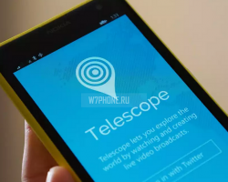 Telescope— неофициальное приложение Periscope для Windows Phone