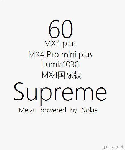 Meizu Supreme Nokia