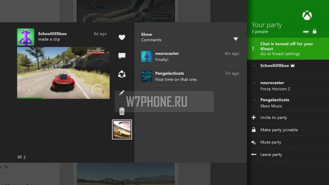 Апрельское обновление Xbox One устранит большинство проблем групповых чатов
