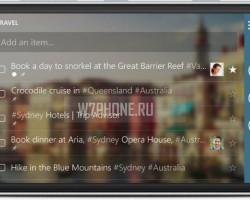 На Windows Phone вышло крупное обновление Wunderlist