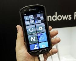 У Kyocera нет планов по выпуску смартфонов на Windows Phone