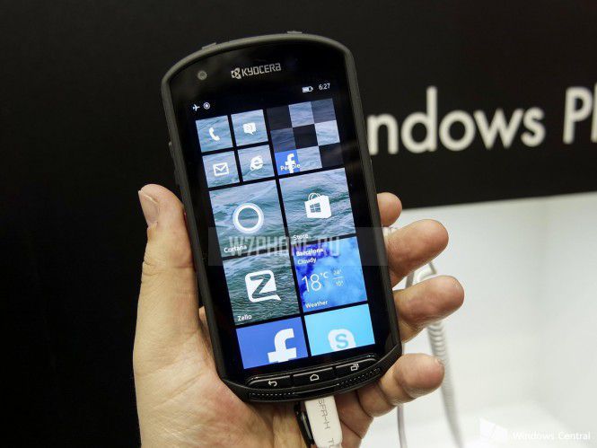 Windows Phone от Kyocera