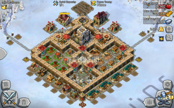 AoE Castle Siege получила патч 1.6