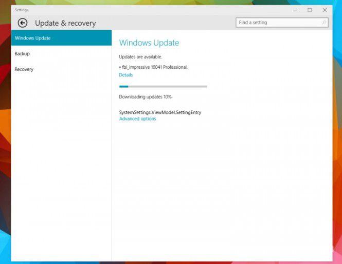 Вышла новая сборка Windows 10 (10041)