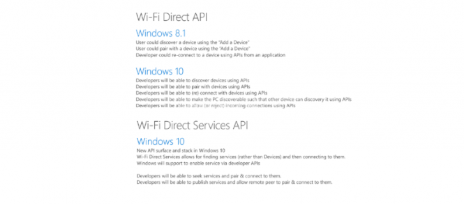 Windows 10 - Wi-Fi Direct