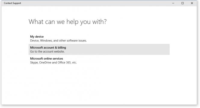 В новую сборку Windows 10 встроено приложение для связи со службой поддержки Microsoft