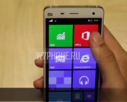 Демонстрация работы Windows 10 на Xiaomi Mi 4 (видео)