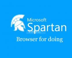 """Browser for doing"" — вероятный слоган Spartan"