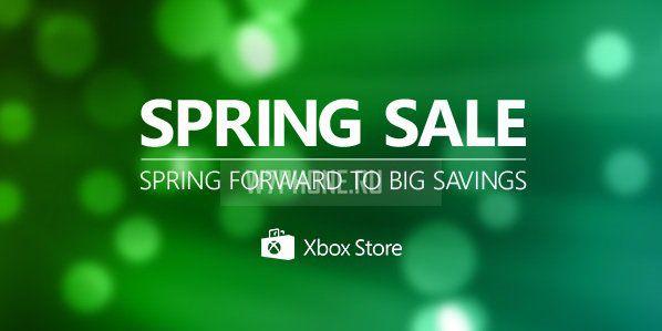 В магазине Xbox стартовали весенние скидки