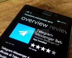 Telegram для Windows Phone получил двухфакторную аутентификацию