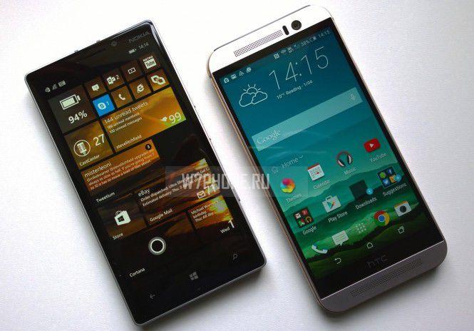 Сравнение камеры Lumia 930 и HTC One M9