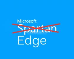 Project Spartan получил название Microsoft Edge, а также поддержку расширений Chrome и Firefox